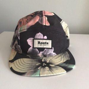 Floral ball cap
